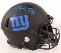 "Lawrence Taylor Signed Giants Eclipse Alternate Speed Authentic On-Field Full-Size Helmet Inscribed ""HOF '99"" (Beckett COA) at PristineAuction.com"