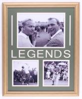 "Arnold Palmer & Jack Nicklaus ""Legends"" 18x22 Custom Framed Photo Display at PristineAuction.com"