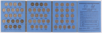 Set of (65) 1938-61 Jefferson Nickels With Booklet at PristineAuction.com