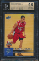 Stephen Curry 2009-10 Upper Deck First Edition #196 RC (BGS 9.5) at PristineAuction.com