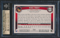 Mike Trout 2011 Topps Update #US175 RC (BGS 9.5) at PristineAuction.com