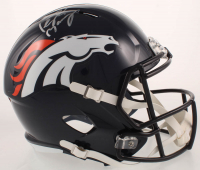 Peyton Manning Signed Broncos Full-Size Speed Helmet (Fanatics Hologram) at PristineAuction.com