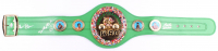 Roberto Duran, Thomas Hearns, & Sugar Ray Leonard Signed World Champion WBC Belt (Beckett COA) at PristineAuction.com