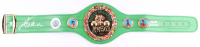 Roberto Duran, Thomas Hearns, & Sugar Ray Leonard Signed World Champion WBC Belt (Beckett COA) at PristineAuction.com