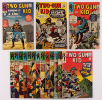 "Lot of (16) ""Two-Gun Kid"" Marvel Comic Books With 1965 Issue #73 - #78, 1966 Issue #79 - 83, & 1967 Issue #85 - #89 at PristineAuction.com"