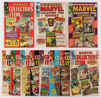 "Lot of (11) ""Marvel Collectors' Item Classics"" Marvel Comic Books With 1965 Issue #1, 1966 Issue #2 - 6 & 1967 Issue #7 - #11 at PristineAuction.com"