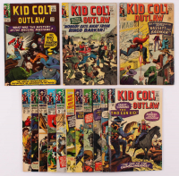 "Lot of (14) ""Kid Colt Outlaw"" Marvel Comic Books With 1964 Issue #119, 1965 Issue #123 - 125, 1966 Issue #126 - 131 at PristineAuction.com"