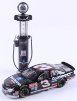 Lot of (2) Dale Earnhardt Sr. Limited Edition Die-Cast Items with (1) #3 Goodwrench Service Plus 25th Anniversary 1999 Monte Carlo 1:24 Scare Car & (1) #3 Goodwrench Service Plus 25th Anniversary 1999 Monte Carlo Gas Pump at PristineAuction.com