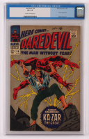 "1967 ""Daredevil"" Issue #24 Marvel Comic Book (CGC 6) at PristineAuction.com"