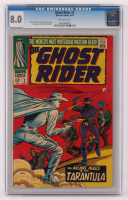 """1967 """"The Ghost Rider (Marvel Western)"""" Issue #2 Marvel Comic Book (CGC 8) at PristineAuction.com"""