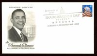Barack Obama Inauguration Day 2009 FDC Envelope at PristineAuction.com