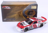 Dale Earnhardt Jr. LE #8 Budweiser / Born On Date Twin 125 Win / Raced Version 2004 Monte Carlo Elite 1:24 Scale Die-Cast Car at PristineAuction.com