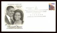 Barack Obama Inauguration Day 2009 FDC Envelope at PristineAuction.com