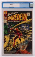 "1966 ""Daredevil"" Issue #21 Marvel Comic Book (CGC 7) at PristineAuction.com"