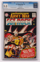 "1966 ""Our Army At War"" Issue #163 DC Comic Book (CGC 5.5) at PristineAuction.com"