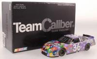 Kenny Schrader Signed LE #36 M&M's Purple Color Vote Winner 2002 Pontiac Grand Prix with Token (JSA COA) at PristineAuction.com