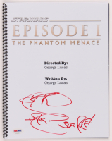 "Ray Park Signed ""Star Wars: Episode I – The Phantom Menace"" Script Inscribed ""Sith Rule"" (PSA Hologram) at PristineAuction.com"