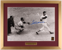 """Ted Williams Signed Red Sox """"Last Home Run"""" 19x24 Custom Framed Photo Display (PSA LOA & Williams Hologram) at PristineAuction.com"""