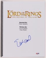 "Elijah Wood Signed ""The Lord of the Rings: The Return of the King"" Script (PSA Hologram) at PristineAuction.com"