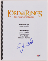"Elijah Wood Signed ""The Lord of the Rings"" Script (PSA Hologram) at PristineAuction.com"