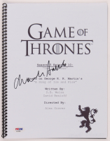 "Charles Dance Signed ""Game of Thrones"" Episode Script (PSA Hologram) at PristineAuction.com"