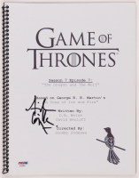 "Aidan Gillen Signed ""Game of Thrones"" Episode Script (PSA Hologram) at PristineAuction.com"