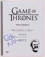 "D. B. Weiss Signed ""Game of Thrones"" Episode Script (PSA Hologram) at PristineAuction.com"