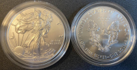 United States Mint 2020 American Silver Eagle Proof $1 One Dollar Coin at PristineAuction.com