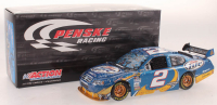Kurt Busch Signed LE #2 Miller Lite Atalnta Win 2010 Dodge Charger with Victory Lane Pin (JSA COA) at PristineAuction.com