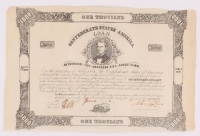 1881 Confederate States of America $1000 One Thousand Dollar Bank Loan Note at PristineAuction.com