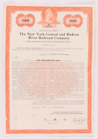 1972 $1000 One Thousand Dollars New York Central & Hudson River Railroad Company Bank Bond at PristineAuction.com
