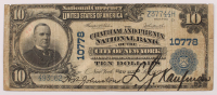 1902 $10 Ten-Dollar U.S. National Currency Large-Size Bank Note - The Chatham and Phenix National Bank of the City of New York, New York at PristineAuction.com