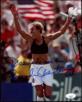 "Brandi Chastain Signed Team USA 8x10 Photo Inscribed ""Dreams Do Come True!"" & ""USA"" (JSA COA) at PristineAuction.com"