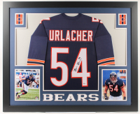 Brian Urlacher Signed 35x43 Custom Framed Jersey (Beckett COA) at PristineAuction.com