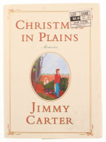 """Jimmy Carter Signed """"Christmas in Plains"""" Hard Cover Book (JSA COA) at PristineAuction.com"""