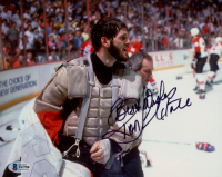 """Ron Hextall Signed Flyers 8x10 Photo Inscribed """"Best Wishes"""" (Beckett COA) at PristineAuction.com"""