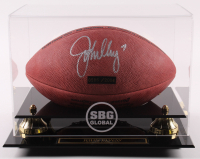 John Elway Signed LE Official NFL Game Ball Football with Display Case (Mounted Memories Hologram) at PristineAuction.com