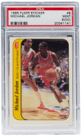 Michael Jordan 1986-87 Fleer Stickers #8 (PSA 9) (OC) at PristineAuction.com