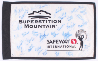 2006 Safeway International Field 13x22 Pin Flag Signed by (34) With Juli Inkster, Karrie Webb, Meg Mallon, Julieta Granada (Beckett LOA) at PristineAuction.com
