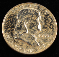 1959 50¢ Proof Franklin Silver Half-Dollar at PristineAuction.com