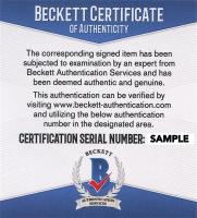 "Gene Roddenberry Signed ""Star Trek"" 14x22 Print Inscribed ""Best From"" (Beckett COA) at PristineAuction.com"