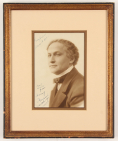 Harry Houdini Signed 10x12.5 Custom Framed Photo Display with (3) Inscriptions (JSA LOA) at PristineAuction.com