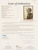 Harry Houdini Signed 10x12.5 Custom Framed Photo Display with (3) Inscriptions (JSA LOA) at PristineAuction.com