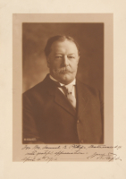 William Howard Taft Signed 9.75x13.75 Photo with Inscriptions (JSA ALOA) at PristineAuction.com