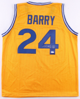 "Rick Barry Signed Jersey Inscribed ""HOF 1987"" (JSA COA) at PristineAuction.com"