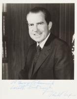 Richard Nixon Signed 8x10 Photo with Inscriptions (JSA LOA) at PristineAuction.com