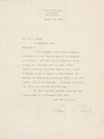 Calvin Coolidge Signed Letter (JSA LOA) at PristineAuction.com