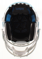 """Michael """"Playmaker"""" Irvin Signed Cowboys Full-Size Authentic On-Field Chrome F7 Helmet (JSA COA) at PristineAuction.com"""