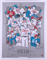 """2018 Team of Dreams"" LE 22x28 Lithograph Signed by (14) with Cal Ripken Jr., Wade Boggs, Tom Glavine, Ozzie Smith, Fred Lynn, Dick Butkus, Rickey Henderson (MAB Hologram) at PristineAuction.com"