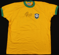 Pele Signed Team Brazil Jersey (JSA ALOA) at PristineAuction.com